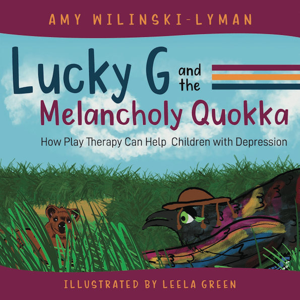Lucky G and the Melancholy Quokka book cover